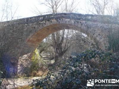 Senderismo Segovia - Riberas de los ríos Pirón y Viejo; bosque madrid; subida a la bola del mundo